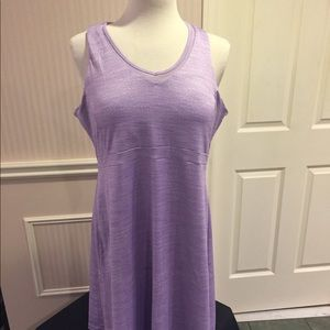 Mondetta  activewear mauve dress with built in bra